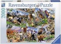 Puzzle 2000 Ravensburger 166978 Pocztówka z Parku