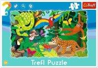 Puzzle Ramkowe 15 Trefl 31219 Las Tropikalny