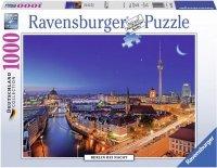 Puzzle 1000 Ravensburger 194551 Berlin Nocą