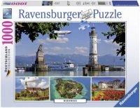Puzzle 1000 Ravensburger 194605 Jezioro Bodeńskie