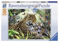 Puzzle 500 Ravensburger 144860 Jaguar