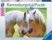 Puzzle 1000 Ravensburger 194858 Konie - Czułe Chwile