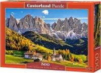 Puzzle 500 Castorland B-52738 Włochy - Santa Maddalena w Val di Funes