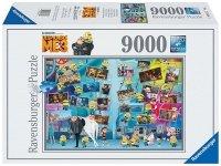Puzzle 9000 Ravensburger 178087 Zabawne Minionki