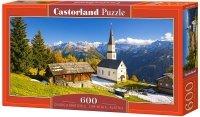 Puzzle 600 Castorland B-060153 Kościółek - Austria