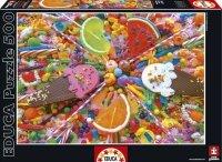 Puzzle 500 Educa 16271 Słodycze