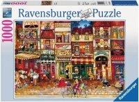 Puzzle 1000 Ravensburger 194087 Francuska Ulica