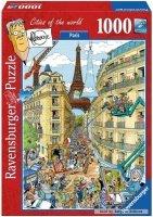 Puzzle 1000 Ravensburger 195039 Paryż - Frans Le Loux