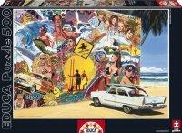 Puzzle 500 Educa 15968 Surferzy Madalenes