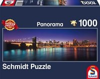 Puzzle 1000 Schmidt 58282 New York - Panorama
