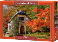Puzzle 500 Castorland B-52806 Dom Gotycki Jesienią