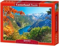 Puzzle 2000 Castorland C-200399 Navy Blue  Lake in the Alps