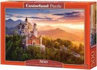 Puzzle 500 Castorland B-52752 Widok Zamku Neuschwanstein w Niemczech