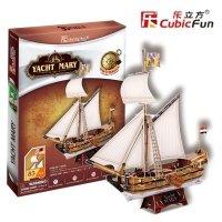 Puzzle 3D CubicFun 83 Yacht Mary - T4010h