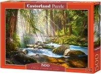Puzzle 500 Castorland B-52875 Strumień Światła nad Potokiem