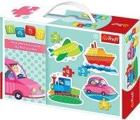 Puzzle Baby Classic Trefl T-36057 Pojazdy