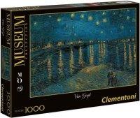 Puzzle 1000 Clementoni 39344 Museum - Van Gogh - Gwiaździsta Noc