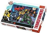 Puzzle 100 Trefl T-16315 Transformers - Drużyna Autobotów
