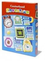 Puzzle Układanka Gra Castorland Education E-067 Zegary