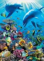 Puzzle 300 Ravensburger 130221 Delfiny - Życie pod Wodą