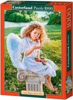 Puzzle 1000 Castorland C-102792 Angel Whispers Sandra Kuck - Anioł