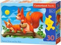 Puzzle 30 Castorland B-03693 Wiewiórki