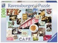 Puzzle 1500 Ravensburger 163465 Kawa i Ciastka