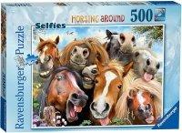 Puzzle 500 Ravensburger 147632 Portret Koni