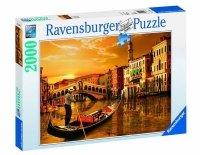 Puzzle 2000 Ravensburger 166671 Gondolierzy z Wenecji