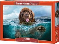 Puzzle 1000 Castorland C-103478 Pies Ratownik - Big Brown