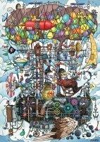 Puzzle 1000 Schmidt 58207 Niesamowita Maszyna Latająca