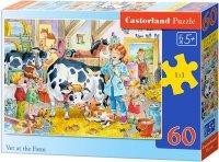 Puzzle 60 Castorland B-06748 Weterynarz na Farmie