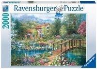 Puzzle 2000 Ravensburger 166374 Domek - Uroki Lata
