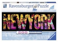 Puzzle 500 Ravensburger 146505 New York - Graffiti - Panorama