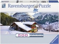Puzzle 500 Ravensburger 144631 Dom w Alpach - Panorama