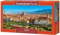Puzzle 600 Castorland B-060078 Panorama Florencji
