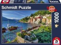 Puzzle 1000 Schmidt 58303 Nad Brzegiem Jeziora Como