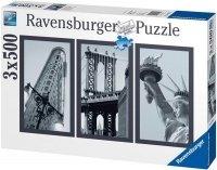 Puzzle 3x500 Ravensburger 162932 New York