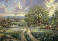 Puzzle 1000 Schmidt 58461 Thomas Kinkade - Życie na Wsi