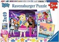 Puzzle 3x49 Ravensburger 092369 Dziewczęta