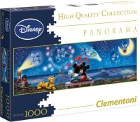Puzzle 1000 Clementoni 39287 Disney - Mickey i Minnie - Panorama