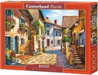 Puzzle 1000 Castorland C-103744 Kawiarnia - Rue De Village