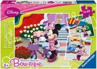 Puzzle 3x49 Ravensburger 094165 Piękna Myszka Minnie 3w1