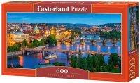 Puzzle 600 Castorland B-060061 Praga Nocą