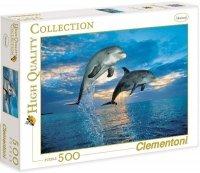 Puzzle 500 Clementoni 30139 Delfiny