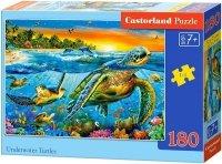 Puzzle 180 Castorland B-018321 Żółwie