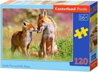 Puzzle 120 Castorland B-13241 Dwa Lisy