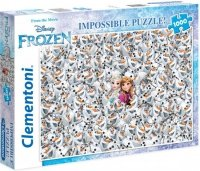 Puzzle 1000 Clementoni 39360 Impossible - Frozen