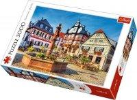 Puzzle 3000 Trefl 33052 Rynek w Heppenheim - Niemcy