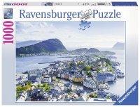 Puzzle 1000 Ravensburger 198443 Alesund - Norwegia